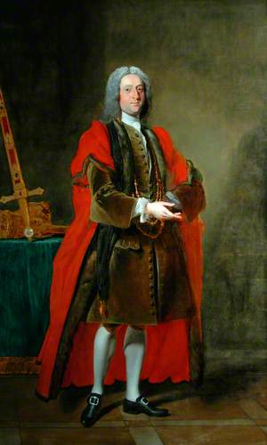 Sir John Lister Kaye, 4th Bt, When Lord Mayor of York