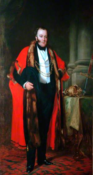 George Hudson Esq., MP, Lord Mayor of the City of York (1837, 1838 & 1847)