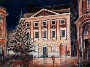 Mansion House at Night