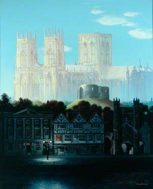 Night and Day; Capriccio of York: York Minster, Clifford's Tower, The Mansion House, Mulberry Hall, Micklegate Bar