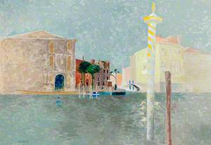 Venice: Campo San Vio (Across the Grand Canal)