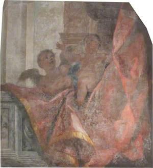 Old Chapel Reredos, Section 1 – Cherubs