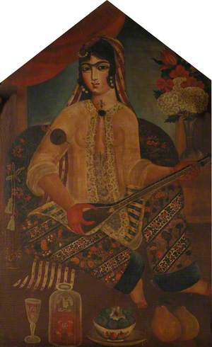 A Qajar Dancing Girl