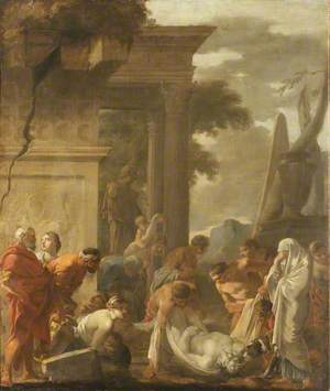 The Internment of Saint Hubert or Saint Mark