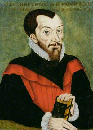 John Rainolds (1549–1607), President of Corpus Christi College, Oxford and Co-Editor of the Authorised Version of the Bible