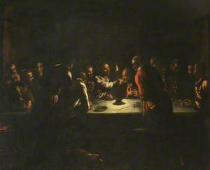 The Last Supper; a Night Piece