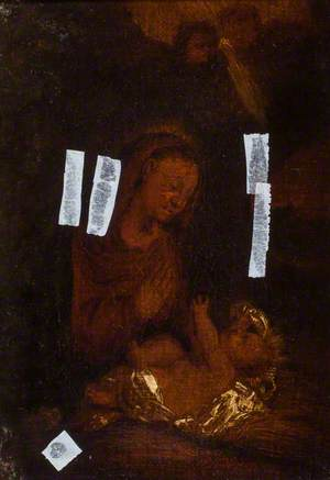 The Virgin Adoring the Christ Child