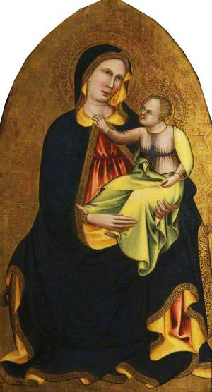 The Virgin and Child Seated on a Cushion (The Madonna of Humility)