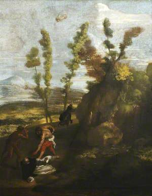 Landscape with the Death of Saint Peter Martyr