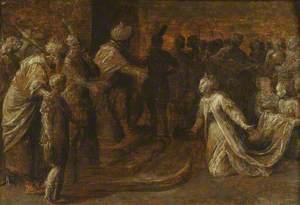Solomon Receiving the Queen of Sheba
