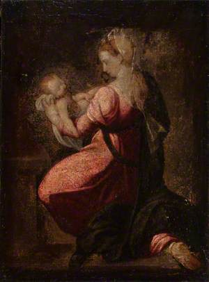 The Virgin Kneeling with the Christ Child in Her Arms