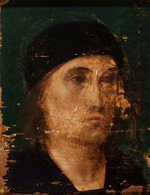 Portrait of a Man in a Black Cap