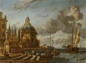 Dutch Harbour Scene
