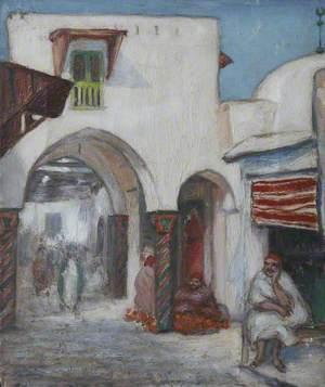 Street Scene, Tunisia