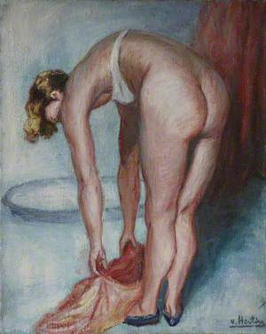 Lady Bathing