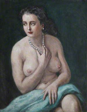 Nude with a Pearl Necklace