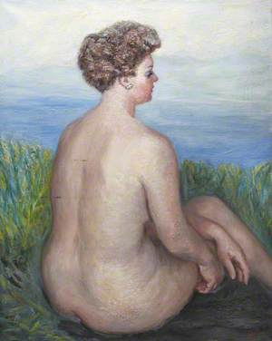Nude in a Field
