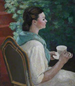 Lady with Teacup