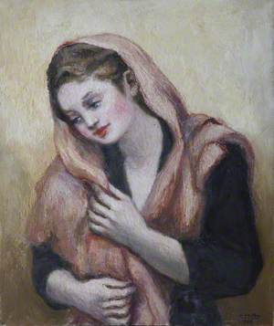 Lady with a Pink Shawl