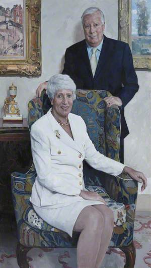 Lord and Lady Harris