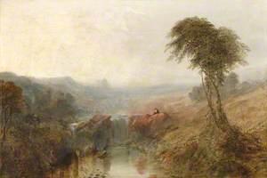 Figures in an Italianate Landscape