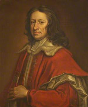 Nathaniel Crewe (1633–1722), Baron Crewe, Rector (1668–1674), in Peer's Robes