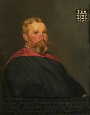 George Edward Baker (1846–1924), Fellow (1870–1910)