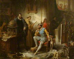 Rudolph II and Tycho Brahe in Prague