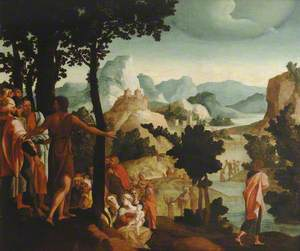 Saint John the Baptist Preaching at the Jordan