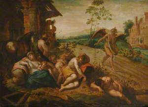 The Devil Sowing Tares