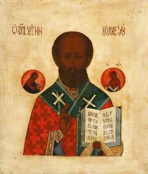 Icon: Saint Nicholas, the Bishop Saint