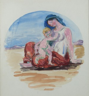 Nymph with Child
