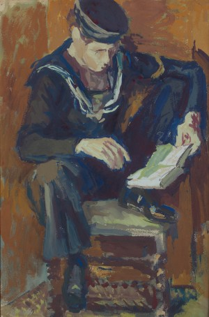 Young Sailor Reading