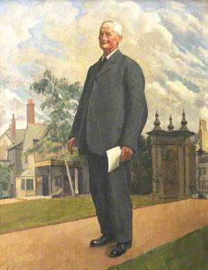 Owen Gillam, Messenger at Trinity College (retired 1932)