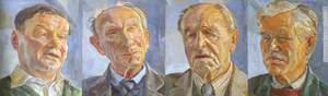 Bill Sykes, Peter Strawson, George Cawkwell and Hartmut Pogge von Strandmann