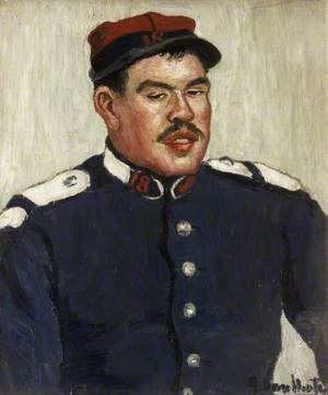 Portrait of a French Soldier