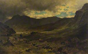 'Ben Ledi Saw the Cross of Fire; It Glanced Like Lightning up Strathyre'