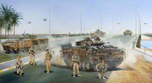 'Dogwood' Lament to the Lost, 1st Battalion The Black Watch (Royal Highland Regiment) at the Jurf Al Sukhr Bridge, Iraq, November 2004
