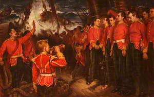 Wreck of the 'Birkenhead'