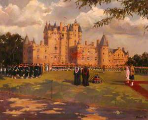Drumhead Service, Glamis Castle, 20 September 1998