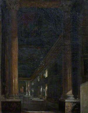 An Interior of the Colonna Gallery, Rome