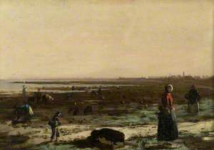 Gathering Mussels, Arbroath