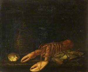 Still Life with a Lobster and a Crab