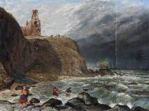 Tantallon Castle and the Bass Rock
