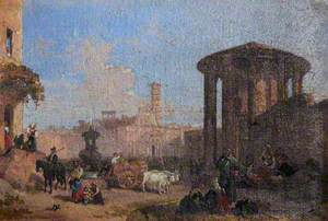 The Temple of Vesta, Rome