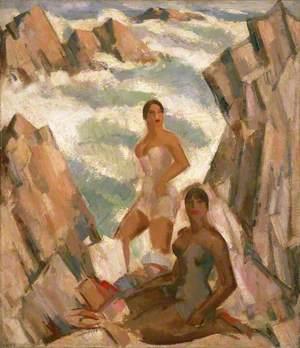 Bathers: The Breeze