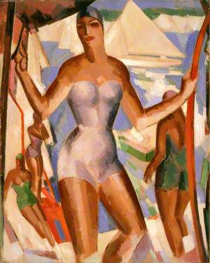 Bathers and Yachts