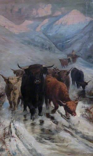 Winter in Glen Lomond