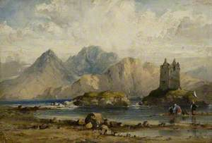 Castle on a Scottish Loch