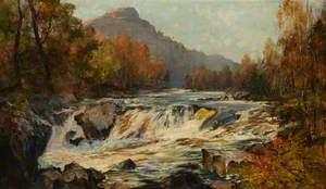 Restless Energy, the Falls of Tummell